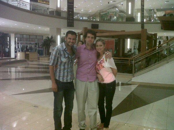 Saliendo plaza galerias, Madagascar 3, con Diseñadora Beatriz Rangel y Diseñador Marcos Candelario!!! buena vibra!!! 20/jun/12!!! Buena vibra!!!