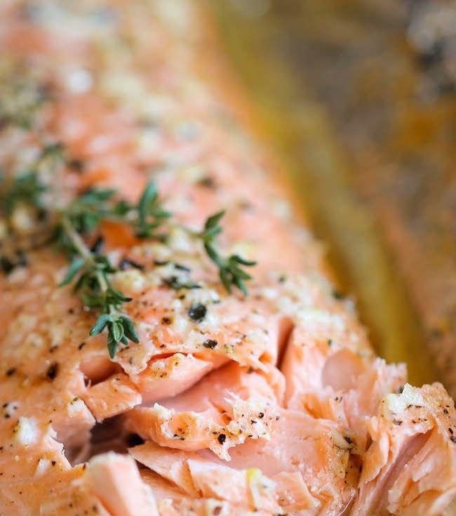 Baked Honey Salmon In Foil Recipe