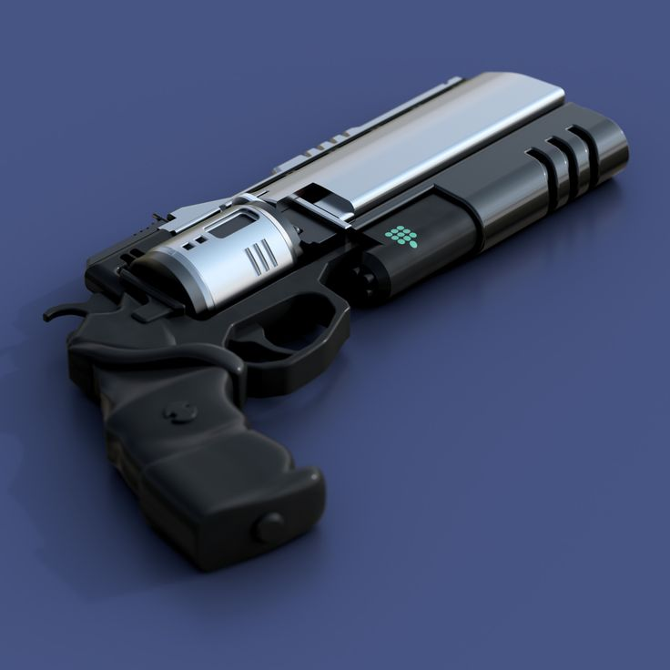 ArtStation - Destiny Hand Cannon, Valentine Panchin