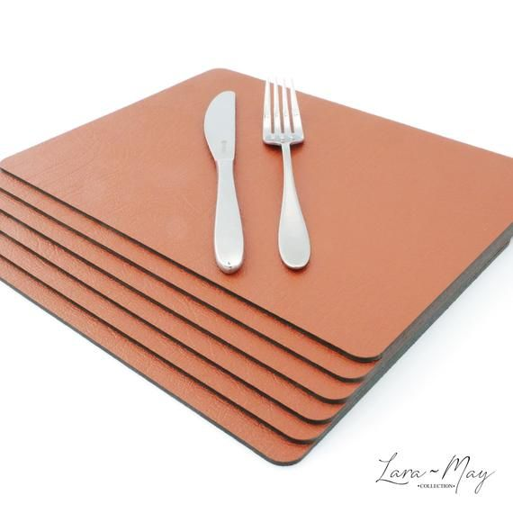 This Item Is Unavailable Etsy Yellow Placemats Dining Place Mats Leather Coasters