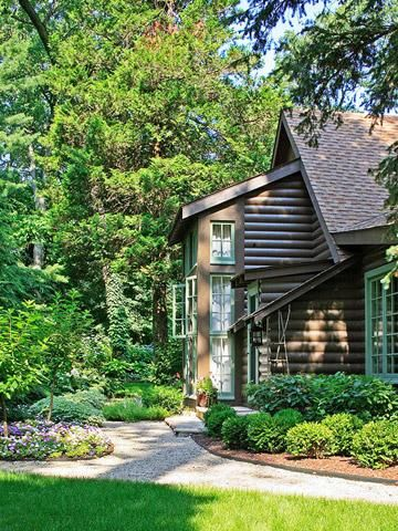 97 best pretty porches outdoor spaces images on for Cottage builders in michigan