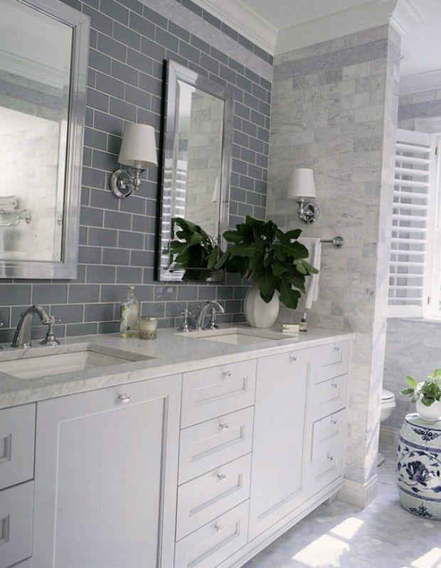 Современные материалы отделки в интерьере ванной комнаты