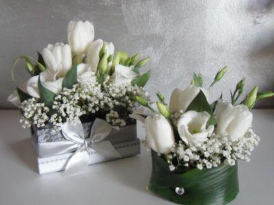 Pi di 25 fantastiche idee su centrotavola di fiori su - Centrotavola natalizi con fiori finti ...