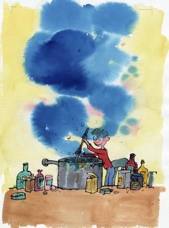 George's Marvelous Medicine - Quentin Blake