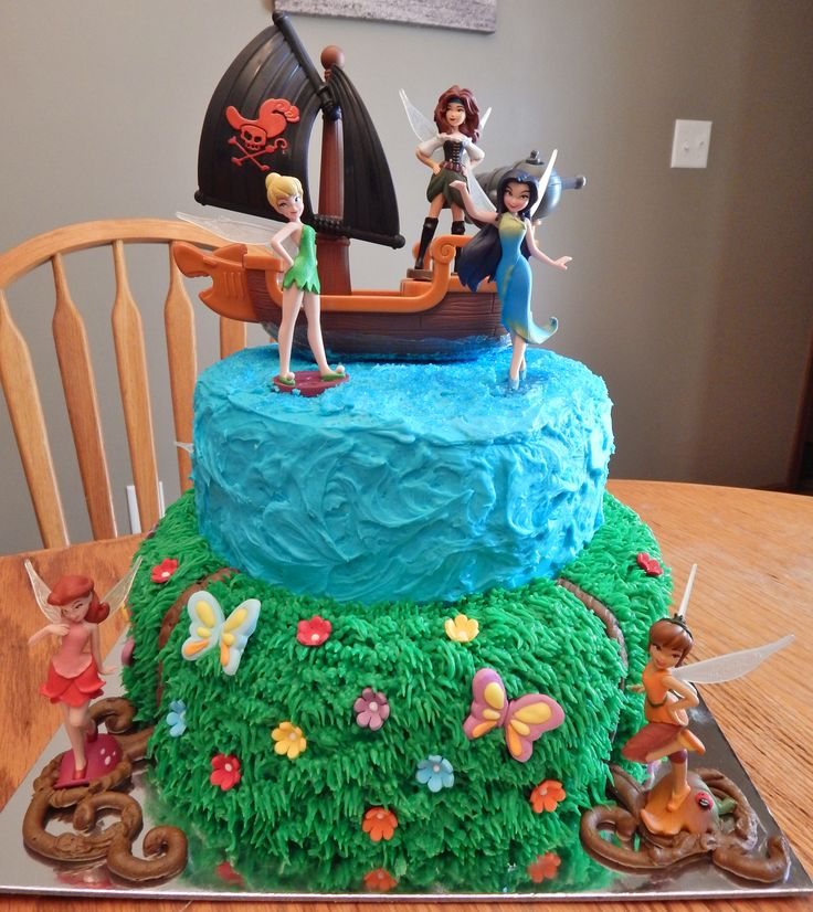 Pirate Fairy Cake