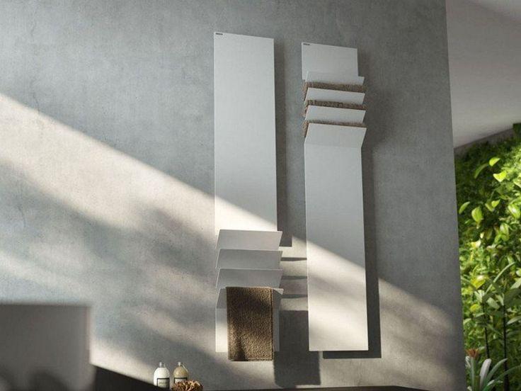 radiateur électrique mural en aluminium blanc FLAPS par ANTRAX IT