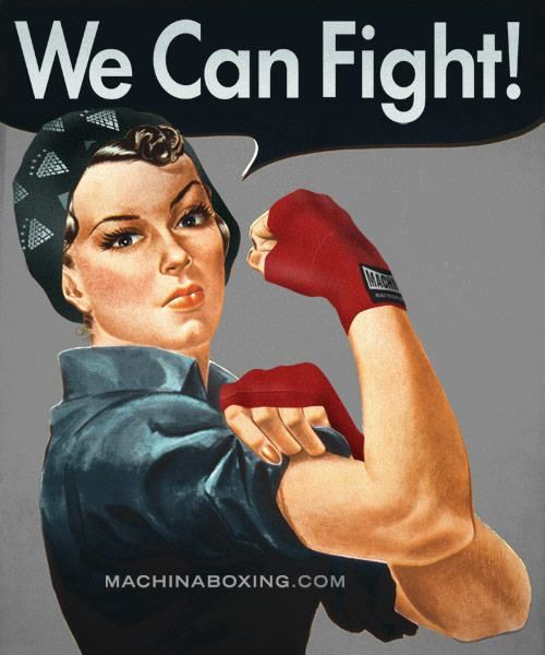 Women's Boxing is here to stay!