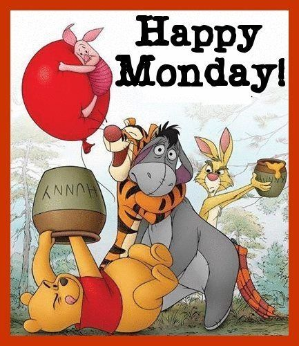 Happy Monday quotes quote winnie the pooh days of the week monday quotes happy monday monday morning