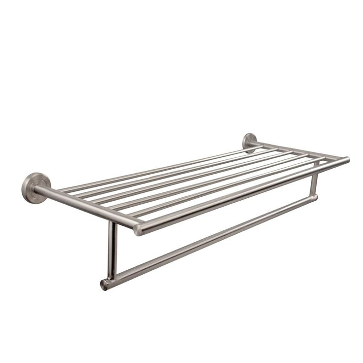 Hotel Towel Rack Brushed Nickel | Home design ideas