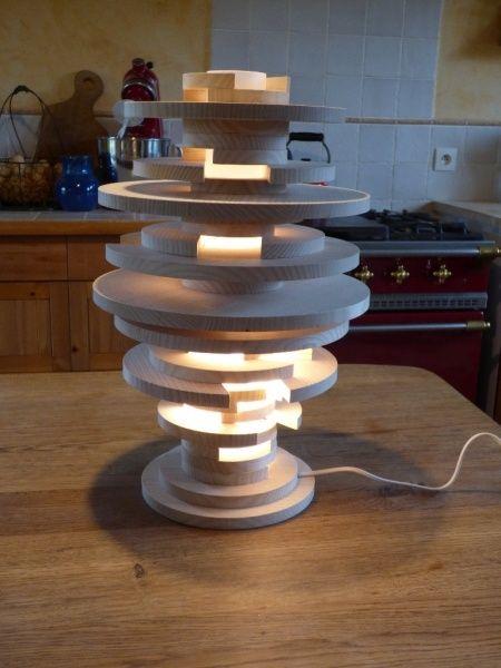 Recette de la petite lampe destructurée par Wil - Vous trouverez tout ce qu'il faut ici pour bien réussir votre recette de lampe destructurée !