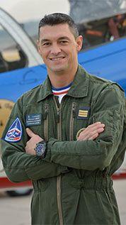 Patrouille de France - Pilotes de la saison 2016  William Leroy (Extèrieur gauche)