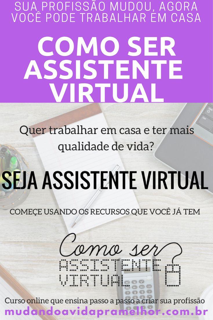 Você entende de demandas administrativas e secretariado? Que tal começar trabalhar em casa como Assistente Virtual, saiba mais sobre essa profissão que vai mudar seu 2018. Confira agora!