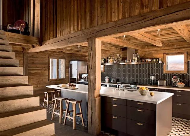 133 best chalet deco de montagne images on pinterest for Decoration maison de montagne