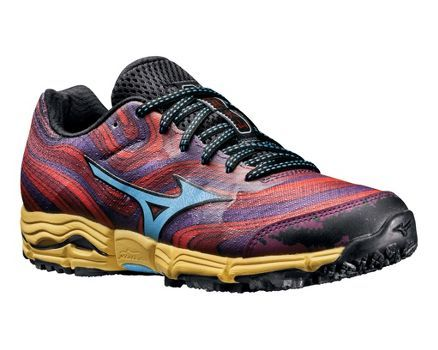 Womens Mizuno Wave Kazan Trail Running Shoe! Finally my go-to running shoe brand comes out with a trailrunner! These are lightweight and super grippy. I use them as my hiking shoes as well as trailrunners.