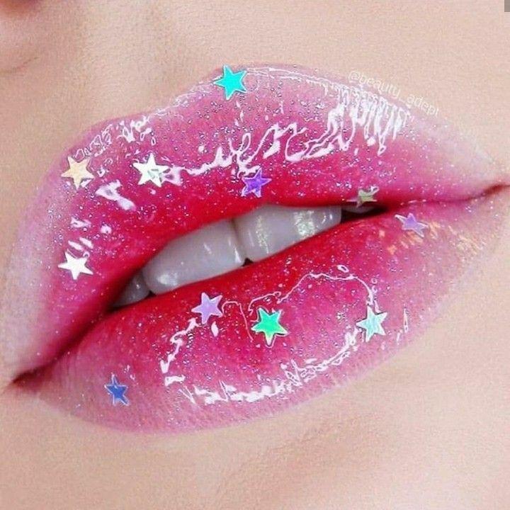 Hyunjin Jimin Pink Pink Aesthetic Aesthetic Star Lip Make