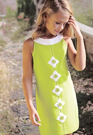 Sewing inspiration for girls dress. This is a store. Specials Clothing by Hartstrings