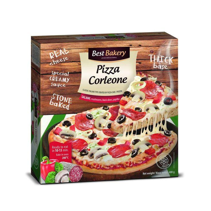 Pizza Corleone😄😊🍴 √ Puszyste ciasto + Ananas + Szynka  √ Puszyste ciasto + Bekon + Pieczarki + włoski sos kremowy √ Puszyste ciasto + Mięso mielone + Jalapeno + sos salsa √ Puszyste ciasto + Salami + Czarne oliwki + włoski sos kremowy √ Puszyste ciasto + Szynka + Pieczarki  Czas sięgnąć po nasze produkty aby porównać je do popularnej w Polsce pizzy naszej konkurencji 👌👌