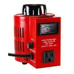 3A Variac Variable AC Power Transformer 0~130 VAC