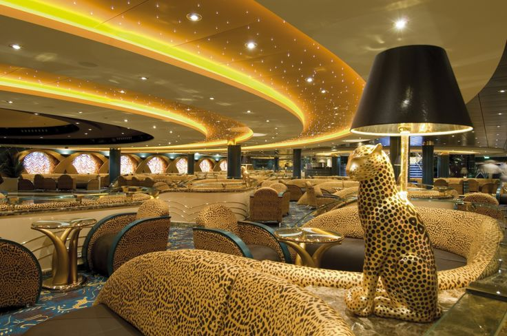 Reeeoow! The #Safari Lounge on #MSCOrchestra