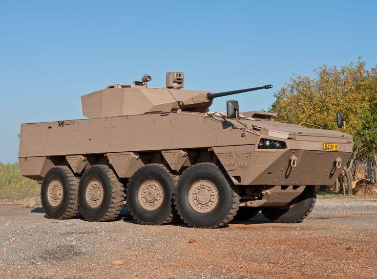Badger Denel 8x8 armoured infantry fighting vehicle