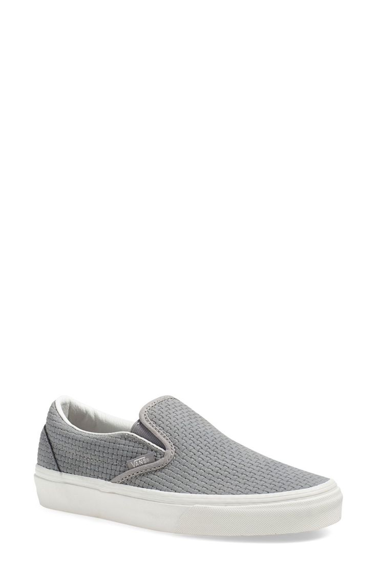 Vans 'Classic' Slip-On Sneaker (Women) available at #Nordstrom  Stitch fix just bought these