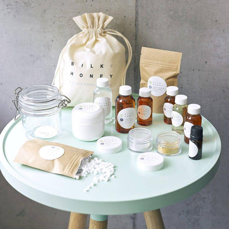 shimmering body cream starter kit by silk + honey | notonthehighstreet.com