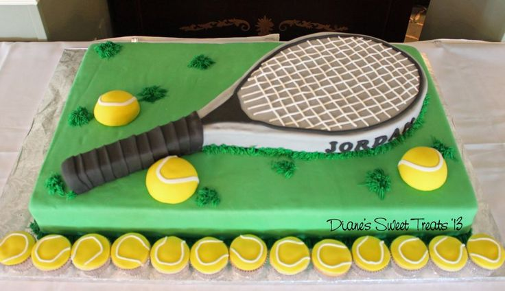 Pin Tennis Cake Gift Cakes Galore Picture To Pinterest more at Recipins.com