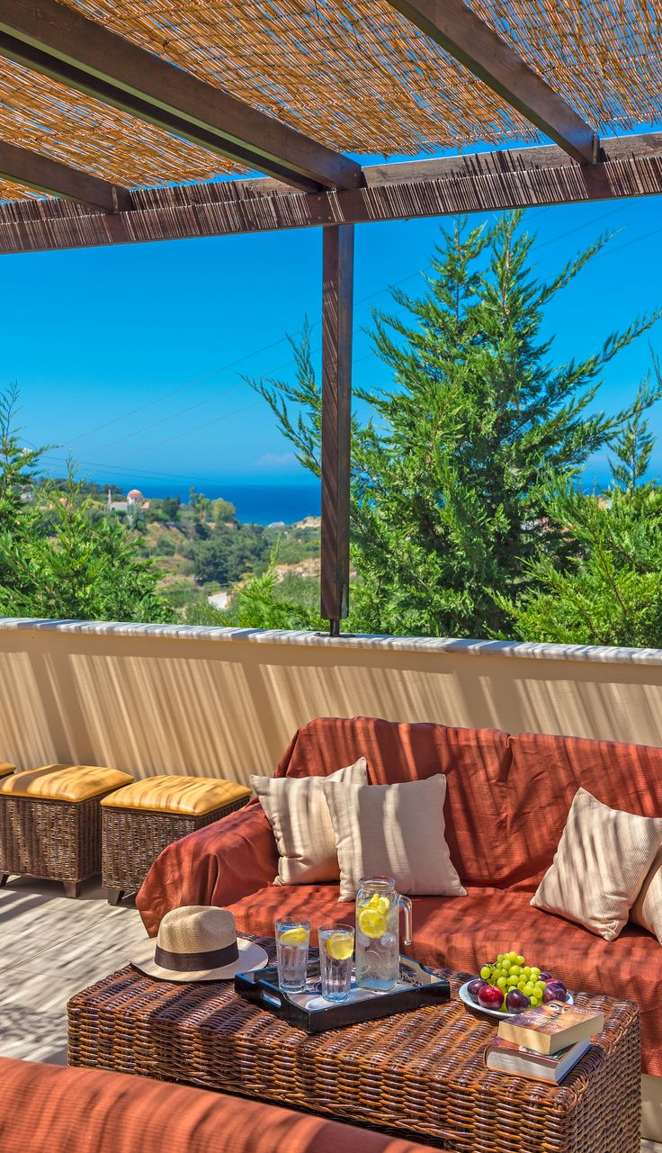 Villa Lemonia in Asteri, Rethymno, Crete