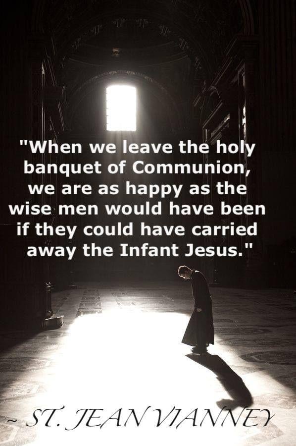 ~ St. Jean Vianney ...