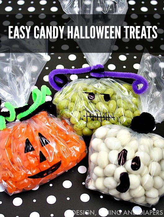 Easy Halloween Treats by designdininganddiapers.com - so much fun!