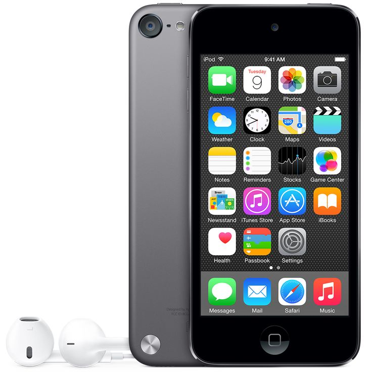 iPod touch 16GB Space Grey  http://store.apple.com/xc/product/MGG82C/A
