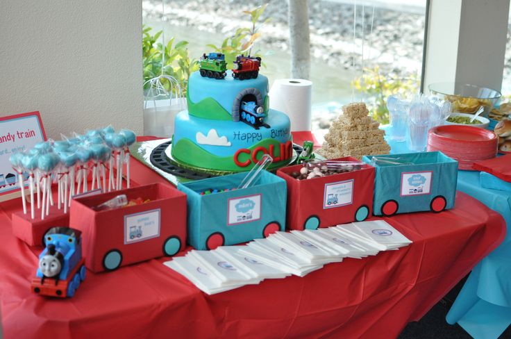 Train Party for my son's 1st birthday