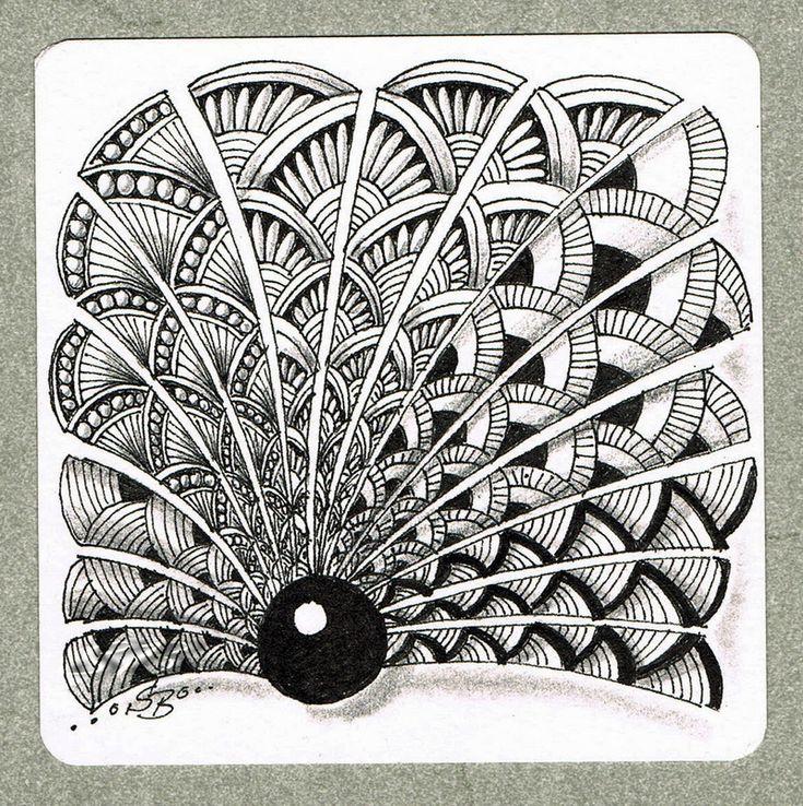 Es gibt Muster, die begleiten einen über lange Zeit als Lieblingsmuster, weil sie einem entsprechen, man immer wieder neu Freude daran hat sie zu zeichnen und daran, wie sie wirken. Ich habe mehrer...