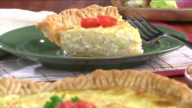 Mr. Food: Creamy Onion Pie