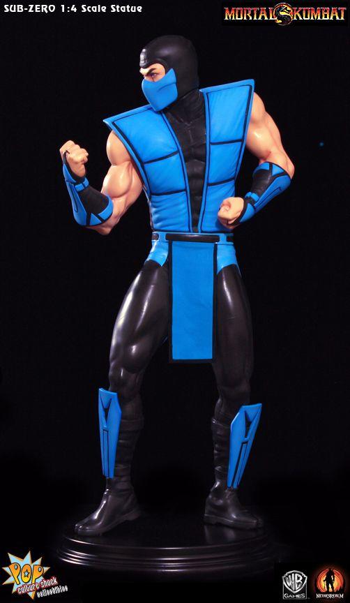 Mortal Kombat: Klassic Sub-Zero 1:4 Scale Statue