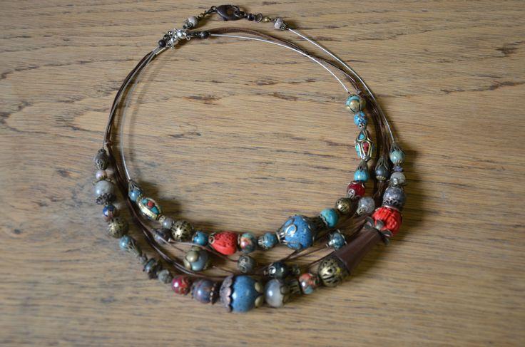 "Triple collier ""Tibet libre"""