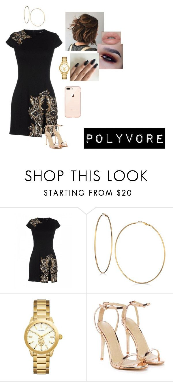 """Sem título #172"" by someoneyouknow000 on Polyvore featuring moda, Dsquared2, GUESS, Tory Burch e Nasty Gal"