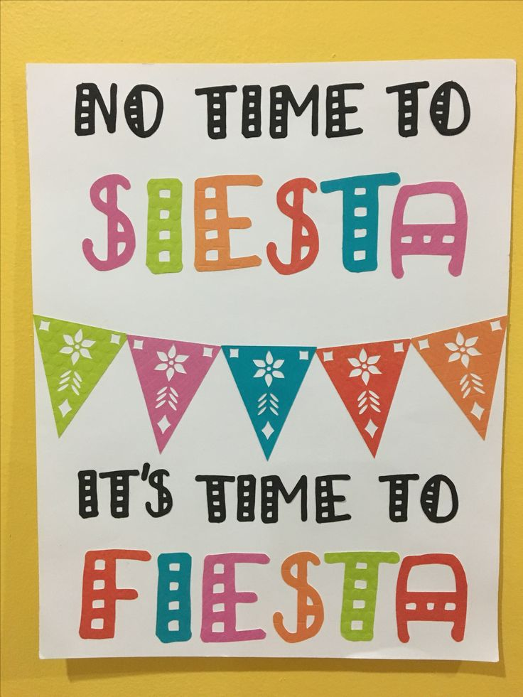 Silhouette cameo DIY bachelorette party signs cinco de mayo theme no time to siesta it's time to fiesta