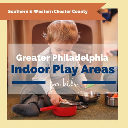 Perfect for this weekend...a list of all the indoor play areas in a 12 county area around Philadelphia.