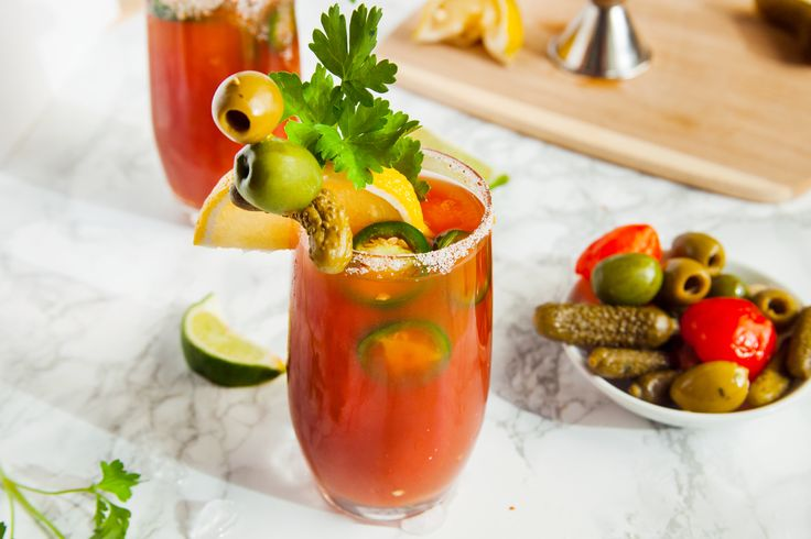 Mezcal Tequila Bloody Mary (Fat Tuesday Special)
