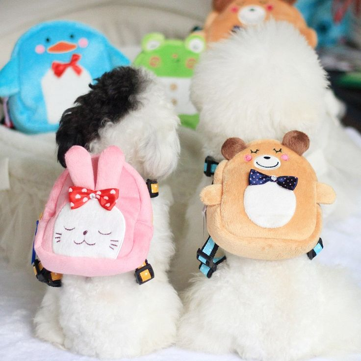 Cartoon Backpack for Pet Cute Dog Backpack Puppy School Bag Rabbit Pig Bear Frog Penguin Pattern Dog Backpack dog supplies WP465 //Price: $14.95 & FREE Shipping //     #hashtag2
