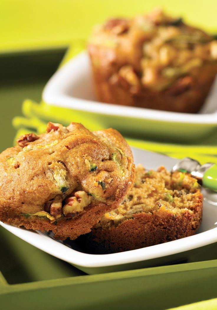 zucchini muffin-- gluten free
