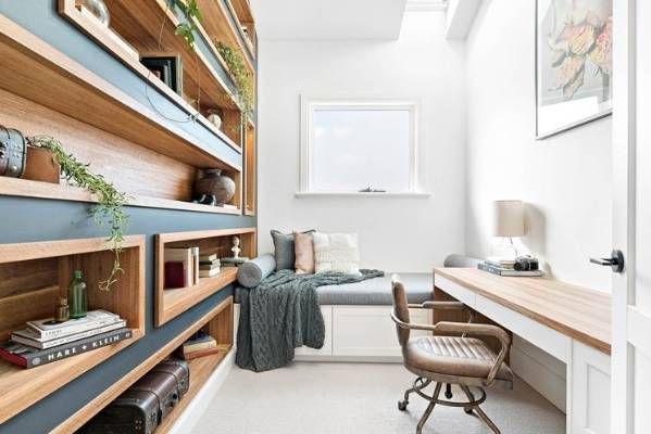 THE RED TEAM: Josh and Elyse's room reveal winning home office.