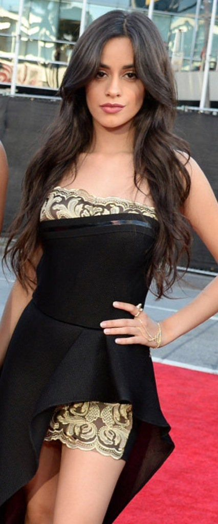 Camila Cabello in American Music Awards 2015