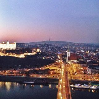 Picture perfect Bratislava, a city in the heart of Europe