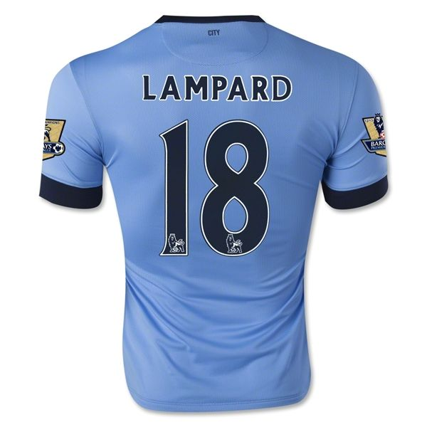 Camiseta Manchester City Local 14/15 LAMPARD#18  *Envío Gratis!  * Facebook: MundoFutbol