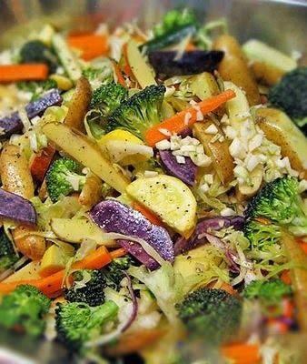 Roasted Vegetable Magic Recipe | Vegi | Pinterest | Roasted Vegetables ...