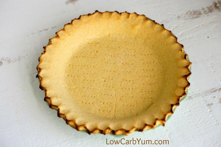 Want the perfect low carb pie crust that isn't made with almond flour? Give this simple coconut flour pie crust a try for both sweet and savory pies.