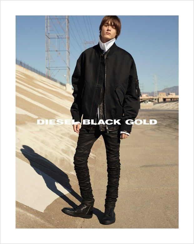 Timur Muharemovic for Diesel Black Gold SS16