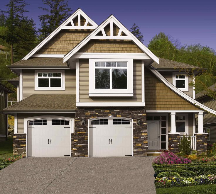 Craftsman Style Det Garage Garage: 9 Best Images About Steel Garage Doors On Pinterest